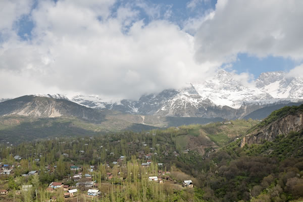 Arslanbob, Kyrgyz village life